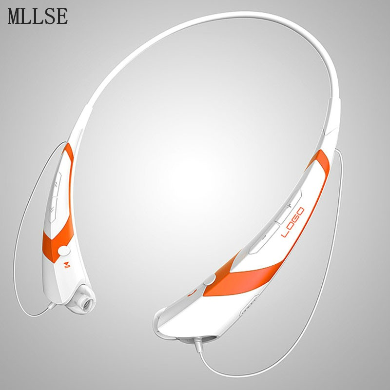 MLLSE Neckband Bluetooth Headphones Earphone Wireless Stereo Earbuds Sport Handfree Headset for Iphone Samsung Xiaomi PS4 Player remax 2 in1 mini bluetooth 4 0 headphones usb car charger dock wireless car headset bluetooth earphone for iphone 7 6s android