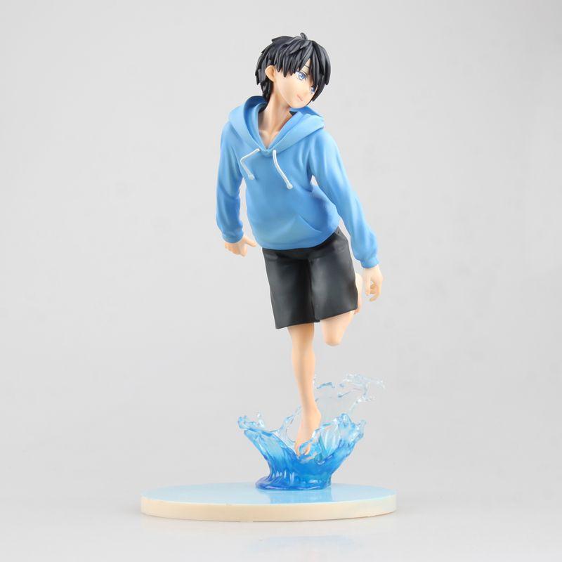 Anime Free! Nanase Haruka PVC Action Figure Collectible Model Doll Toy 20cm