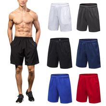 2019 New Running Shorts Men Compression Marathon Quick Dry Gym Tights Sport With Pocket  Plus Size