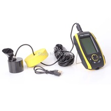 16 Levels Grayscale Portable Fish Finder Waterproof IP67 Sonar Echo Depth Finder Built-in lithium Battery