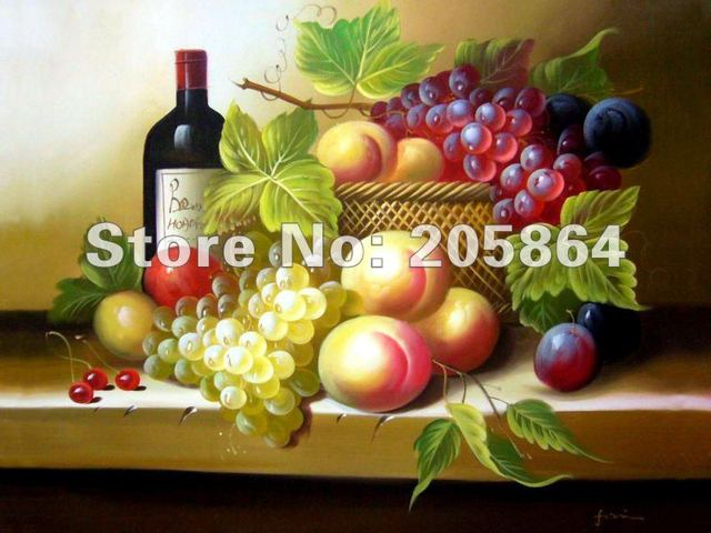 Free shipping wall gobelin tapestries,delicious fruits and wine for festival, size 30x40cm DEC picture for small room and porch