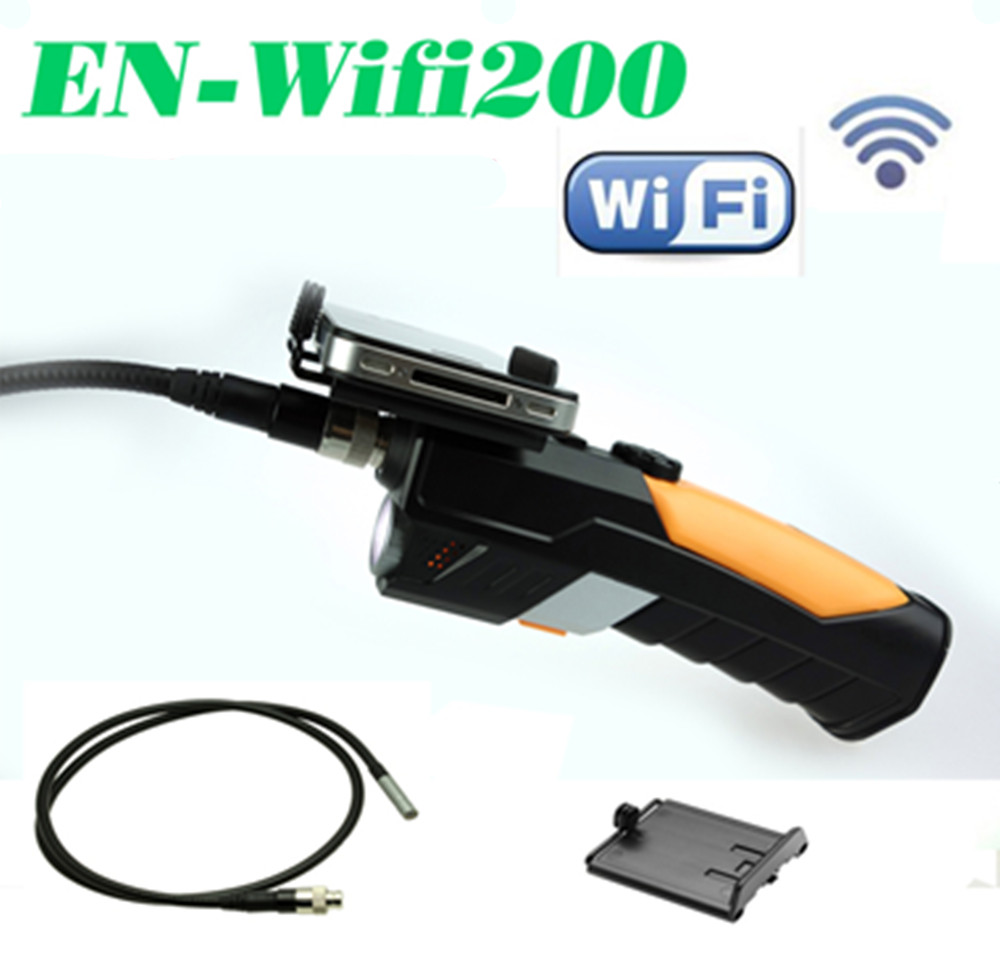 8.5mm 2JMP Wireless WIFI Endoscope For Android&ISO Handheld Endoscope