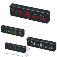 Digital Led Wall Clock With EU plug