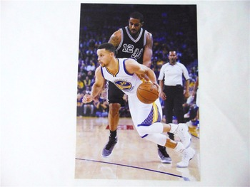 8*(42x29cm)NBA basketball star Stephen Curry Warriors 8 mounted poster sticker mural wall stickers 1