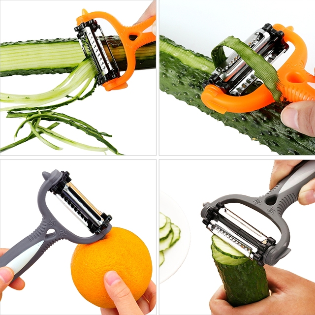 Multifunctional 360 Degree Rotary Kitchen Peeler (3 Colors)