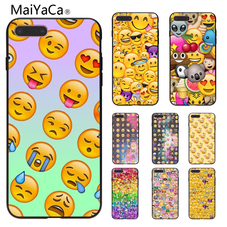 MaiYaCa Funny expression face New High Quality Luxury phone case For iPhone 4s 5s 5c X 8 8Plus 7 7 Plus Mobile cover