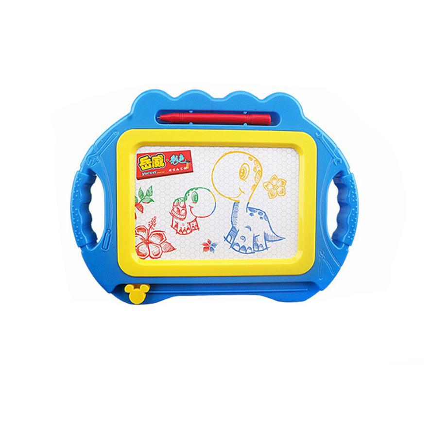Educational Kids Doodle Toy Erasable Magnetic Drawing Board + Pen Gift New Drop Shipping Y0118