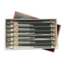 จัดส่งฟรีมืออาชีพเครื่องมือตัดกระจก 6 ชิ้น / กล่อง TOYO ตัดกระเบื้องแก้ว TC 17 B โลหะจับ