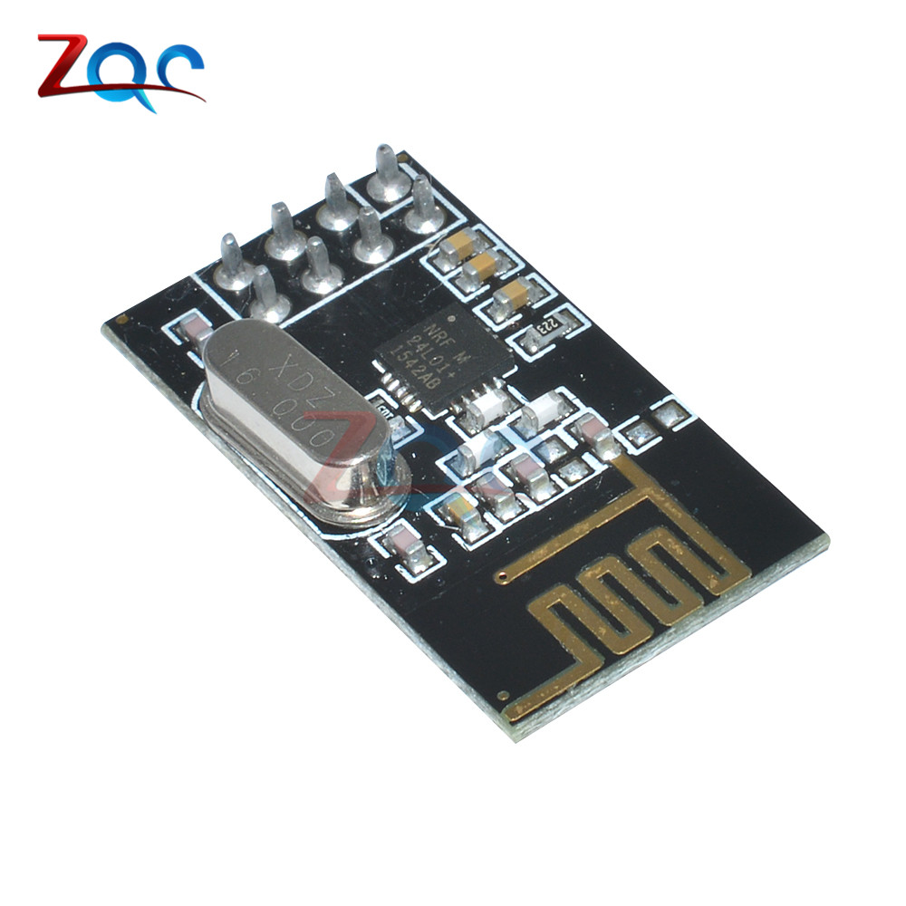 Free Ship\Transceiver-Module NRF24L01 Microcontroller Wireless 5pcs 125-Channels Antenna Mutipoint