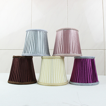 Candle Lamp Shades Shop: Fashion cover for crystal candle bulb pendant light /wall lamp fabric cover  handmade cloth lampshade customize shade multi-color,Lighting