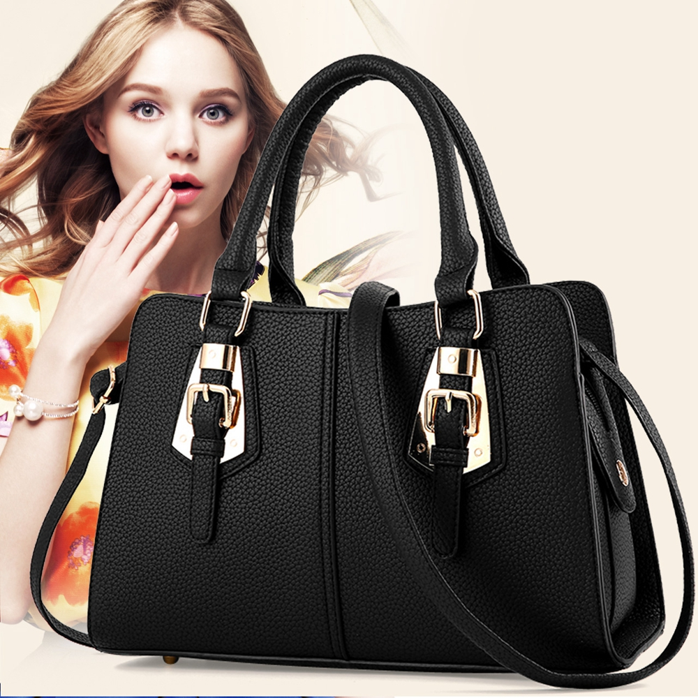 Hot Sale 2017 New Fashion Big Bag Women Shoulder Messenger -8083