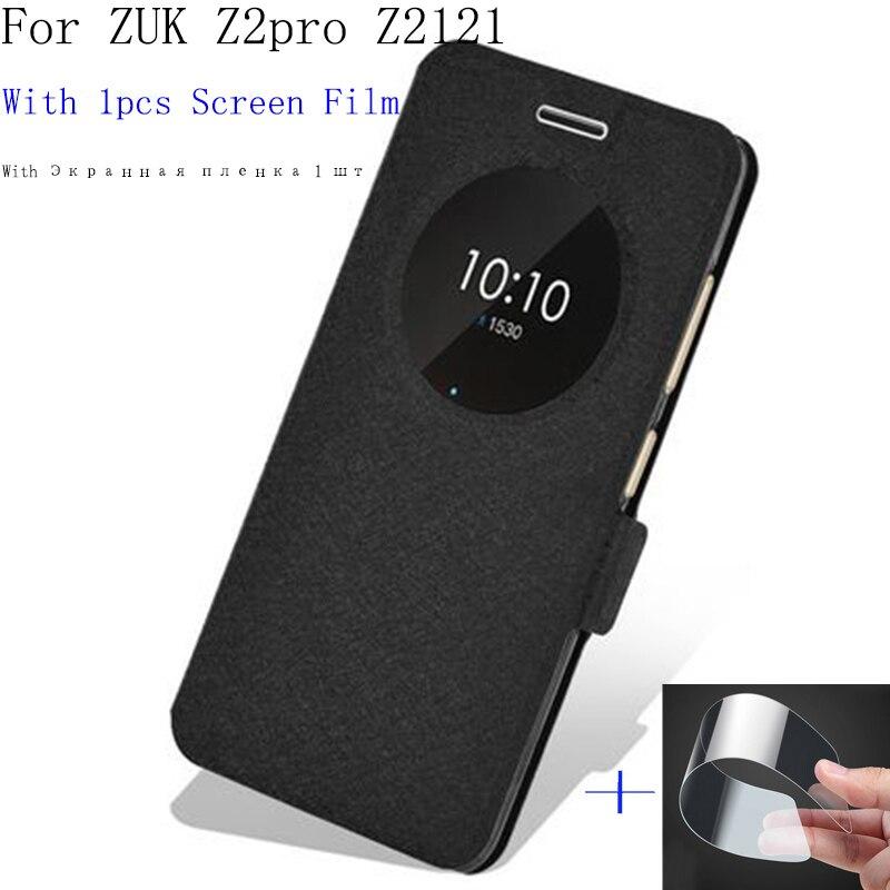 Smart view Окно для lenovo <font><b>ZUK</b></font> Z2pro Z2121 чехол открытое окно аккумулятора телефона для ZUKZ2pro <font><b>ZUK</b></font> <font><b>Z2</b></font> pro Обратно чехол кобура