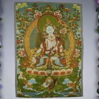 Arazzi,, sete, ricamo fine, dipinti, nascosta Buddha, Thangka, Tang, Nepal, loto,, masters