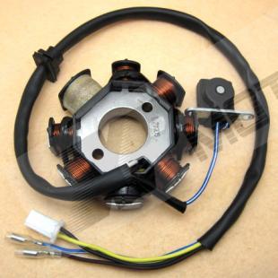 Магнето статора плиты зажигания квадроциклах мопед 125 150cc