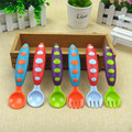 1 set Boys Girls Silicone Baby Spoon Very Soft High Temperature Resistance Single Free Shipping