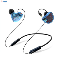 PIZEN BT62 Wireless Bluetooth replacement Cable HIFI Earphone 2Pin 0.75MM Connector IPX4 Use ZS5 ZS10/ZS6/ZST ZSR BA10 MMCX PORT