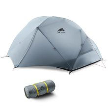 1-2 Person 3 Seasons Double Layer Tent Outdoor Weatherproof Camping Hiking Backpacking Tent Waterproof Hiking Beach Sun Shelter цена