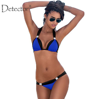 Detector Summer Bikini Women Spliced Swimsuit Bodysuit Swimming Suit Beach Swimwear Bikini