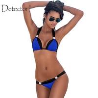 Detector Summer Bikini Women Spliced Swimsuit Bodysuit Swimming Suit Beach Swimwear Bikini
