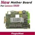 Original nova lenovo s920 placa principal placa placa mãe mainboard motherboard com centro de serviço imei lable de lenovo, frete grátis