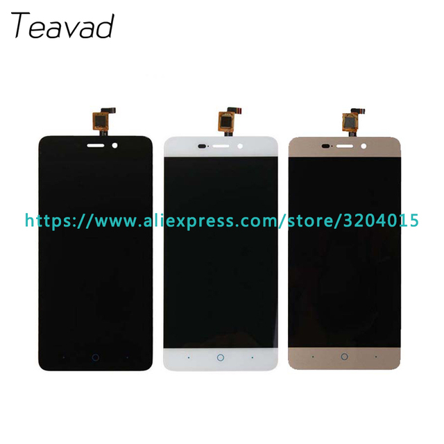 10pcs/lot high quality 5.0'' For ZTE Blade X3 D2 T620 A452 LCD Display Screen With Touch Screen Digitizer Assembly Repair Parts