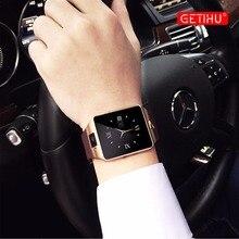 Смарт-часы dz09 SmartWatch цифровой Спорт телефон наручные часы для Apple IPhone Android Для мужчин Для женщин наручные часы Электроника sim-карты