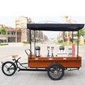 Многофункциональный передвижная Кофейня киоск  велосипед Мобильная тележка еды  кофе торговый велосипед