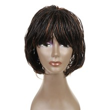 Feibin Box Crochet Braiding Hair Wig African Synthetic Senegalese Free Shipping