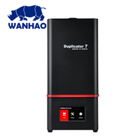 2018 D7Plus Wanhao 3D Printer , SLA DLP UV led Printer reasonable price with durable mateial,buy one get 250ml resin for free