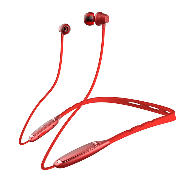 AOSANG Sport Earphone W1 Wireless Bluetooth 4.1 Earphone Neckband Headphone for IPhone Mi Phone IPX5 Waterproof Headset with Mic