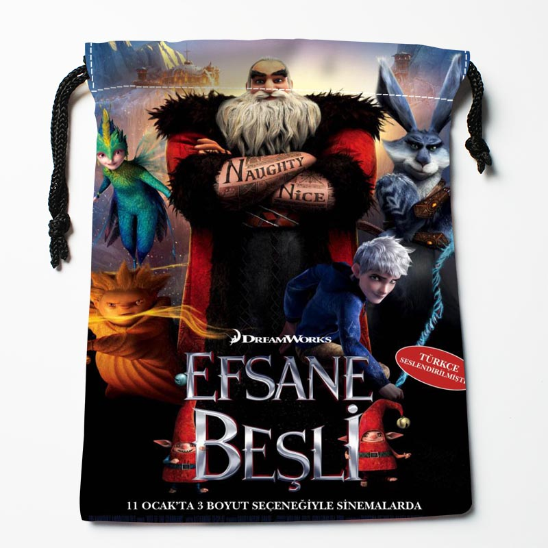 New Arrive  Rise Of The Guardia Drawstring Bags Custom Storage Bags Storage Printed Gift Bags More Size 27x35cm DIY Your Picture