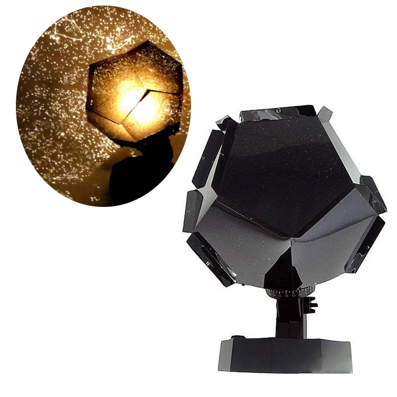 Newly Romantic Star Projector Lamp Starry Sky Projection Night Light For Bedroom Living Room Kids Children Baby Gifts @8