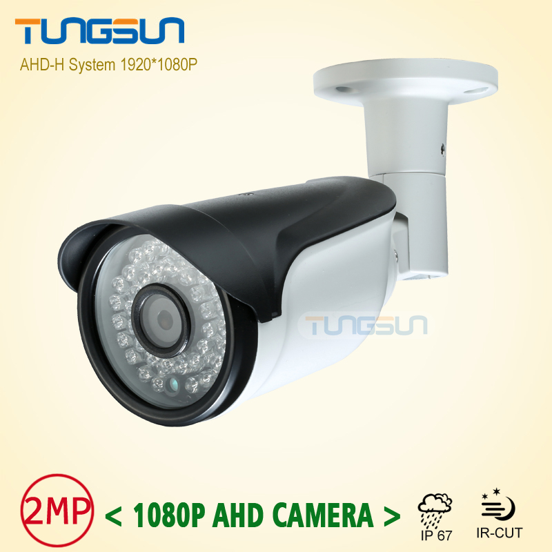 New 2MP AHD HD Full 1080P Camera Security CCTV Metal Bullet Video Surveillance Outdoor Waterproof 36 infrared Night Vision super 4mp full hd ahd security camera metal bullet outdoor waterproof 4 array infrared surveillance camera ov4689 chip