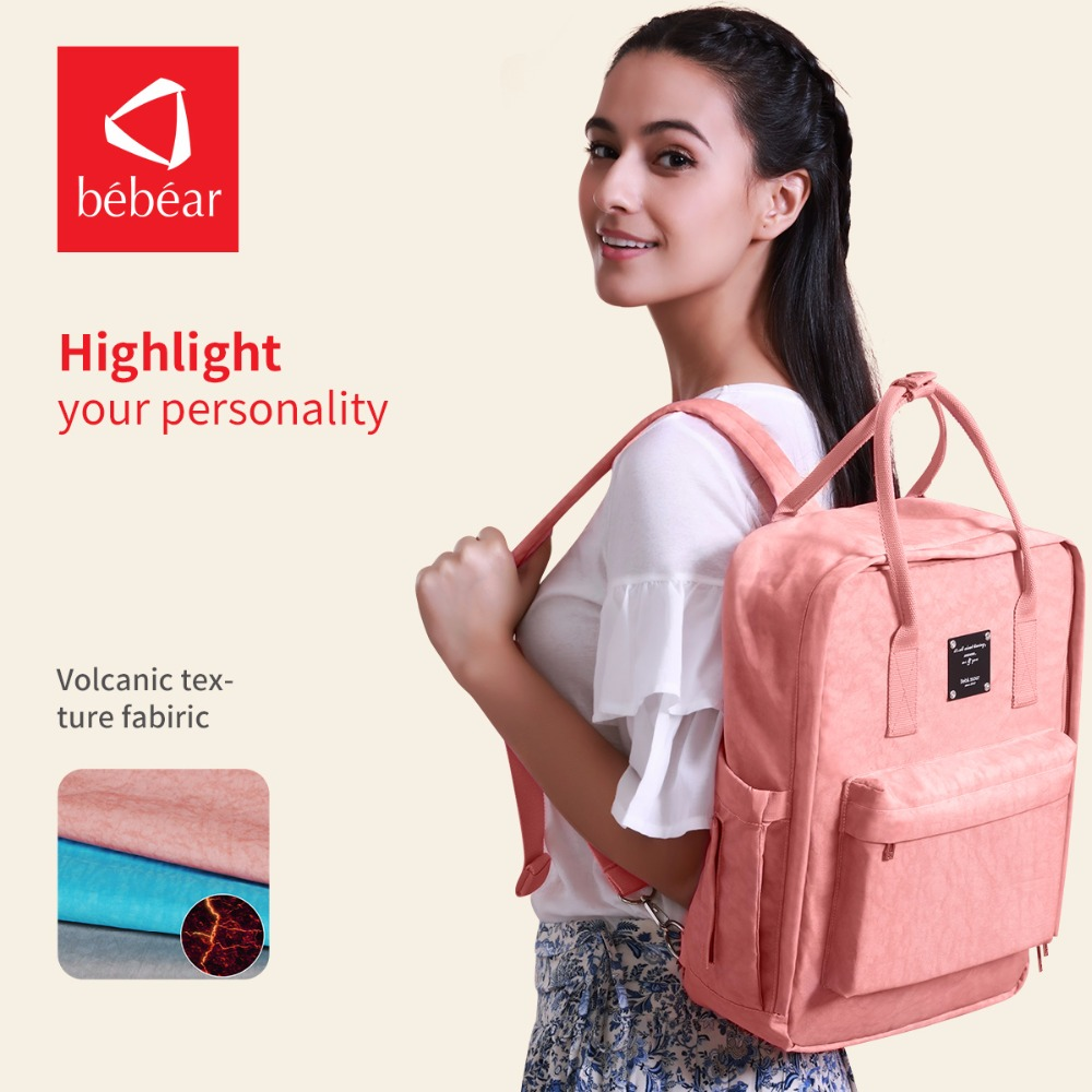 2017 Bebear Diaper Bag with Fashion style backpack floral Baby Nappy Bag Travel Mather Bags Ladies Handbag wet bag bebear new baby diaper bag with exclusive insulated bag mother nappy bags travel backpack waterproof handbag for moms tote bags