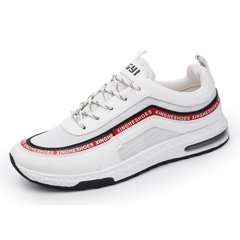 Krasovki And Black Tenis Mâle white Noir Sneakers Sunmmer Adulte Blanc Black Hommes white Chaussures Casual Zapatos Commander Respirant Cpcook Maille UwqR17nx4
