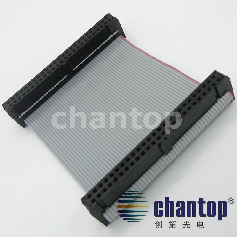 50PIN 2*25P Flat Cable LED display sign connect HUB Signal transmit 10cm length data 50P ribbon cable 10pcs/lot