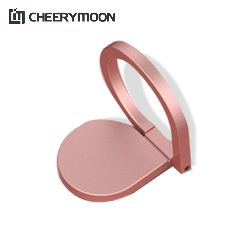 CHEERYMOON Water Droplets 3 Holder Universal Mobile Phone Ring 360 Rotary Magnetic Metal Finger Grip Stand For IPhone
