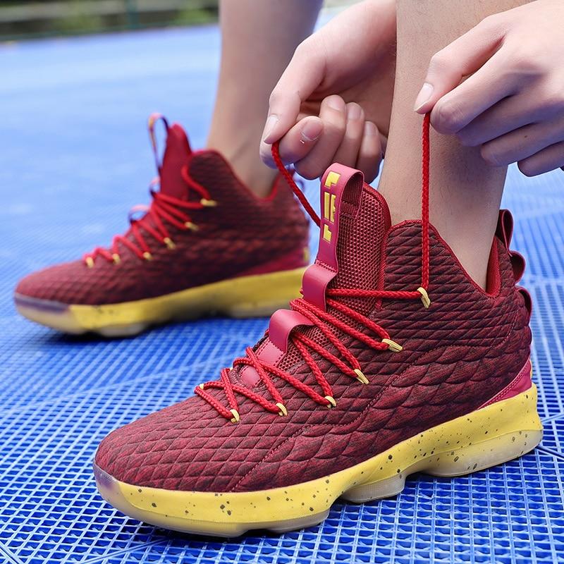 Simulators Retro Professional Air Cushion Basketball Shoes Men Sport Jordan Sneakers Mens Breathable Cushion Hook Loop Male Shoes Jordan