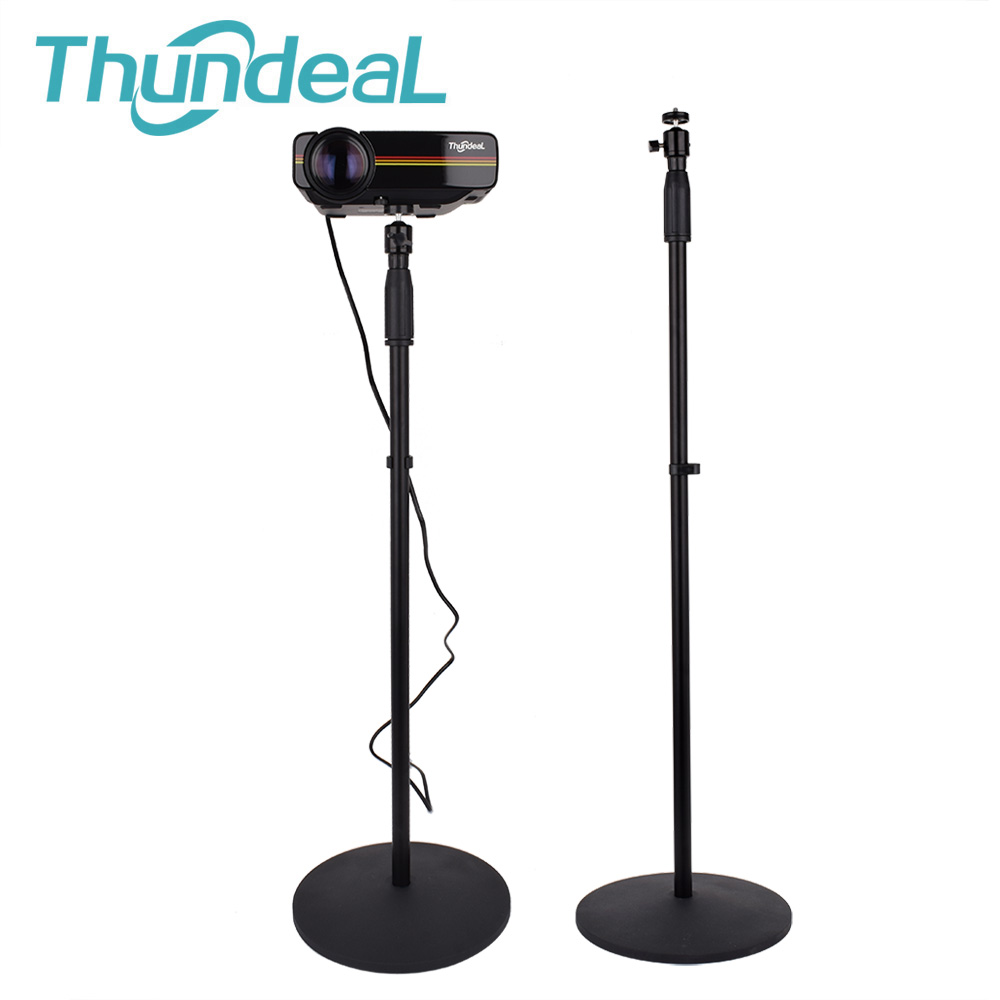 Projector-Bracket X-Floor-Stand-Holder with 360-Degree Swivel-Ball-Head for Mini Webcam