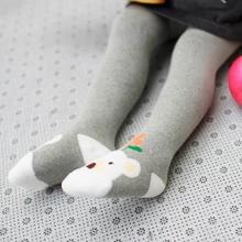 0-2Y Bébé Collants Nouveau-Né Chaud Coton Collants Collants Avec Bel Animal Bébé Filles Vêtements Enfants Serrés Collants Avec Motif