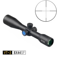 DISCOVERY optical sight VT 2 8X44 SF Riflescopes with Mil Dot Reticle Hunting rifle scope Tactical AK47 AK74 AR15 Hunting scope