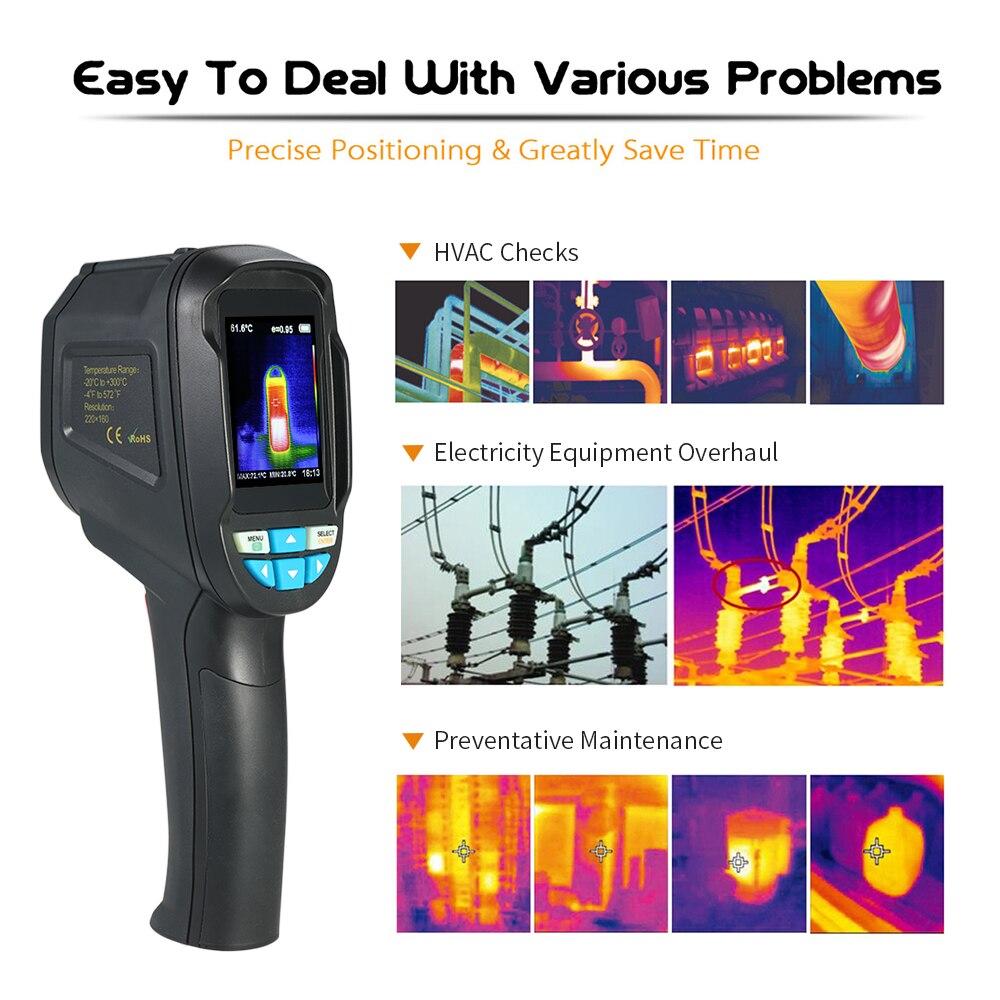 Temperatur Instrumente SchöN Digitale Infrarot Thermometer-50 ~ 550 Grad Nicht-kontakt Ir Pyrometer Hand Industrielle Laser Temperatur Meter Thermometer Messung Und Analyse Instrumente