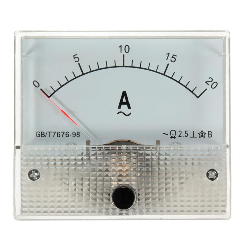 Ac Ammeter Panel Meter : ₩white ac a ᓂ analog amp meter measurement