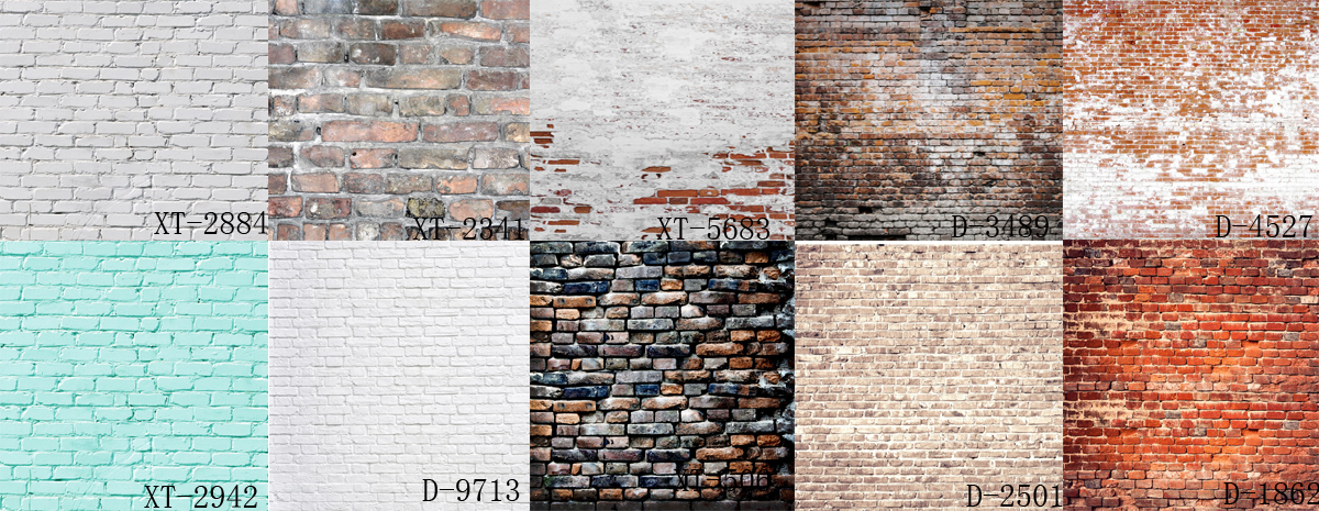 HUAYI 10pc 2x2ft brick paper backdrop photography brick vinyl backdrops brick wall background paper GY-023 photography backdrop wooden car brick wall background vinyl backdrops for photography page 2
