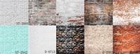 HUAYI 10pc 2x2ft brick paper backdrop photography brick vinyl backdrops brick wall background paper GY 023