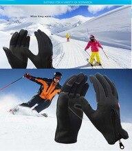 GLV854 winter Warm outdoor climbing antiskid cycling climbing sport font b gloves b font waterproof fleece