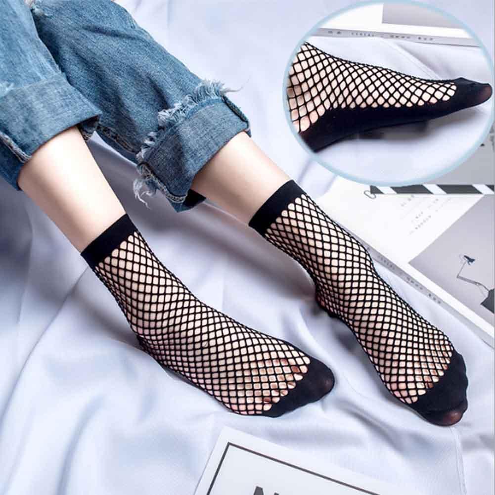 1 Paar 2019 Hot Selling Nieuwe Mode Vrouwen Sokken Cool Netto Sokken Sexy Hollow Mesh Sokken Vis Mesh Mooie Korte Sokken
