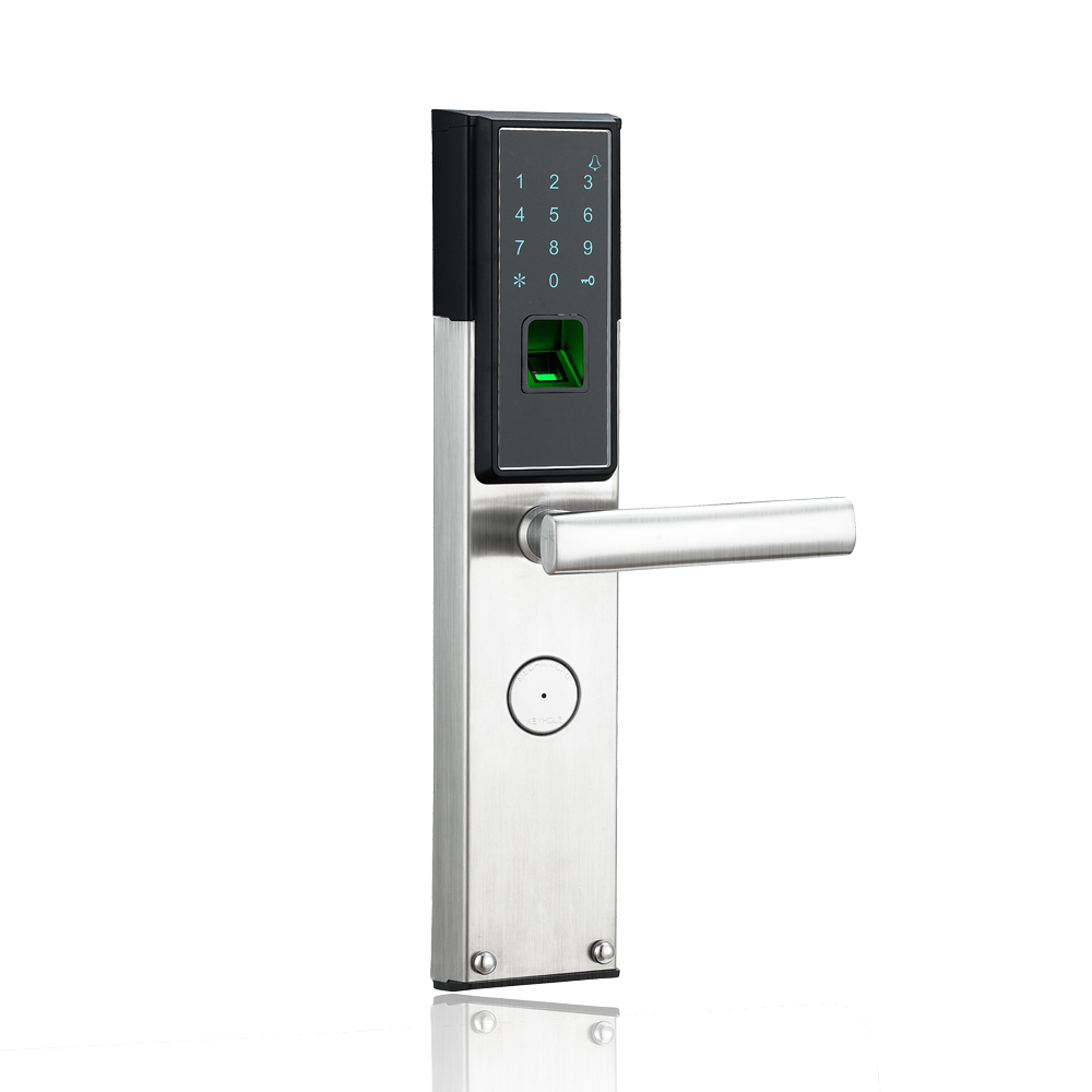 2017 best selling biometric smart digital door lock for 1 touch fingerprint door lock