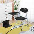 4pcs/lot simple Folding Office Chair Staff Meeting Training Chair With Writing Board Durable Student Learning Classroom Chair