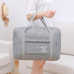Высокое качество Водонепроницаемый дорожные сумки Оксфорд Для женщин Для мужчин большой вещевой сумка-Органайзер для путешествий Чемодан